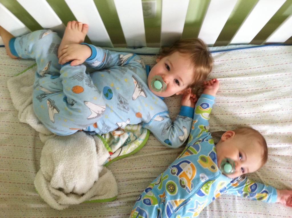Two nonsleeping babies