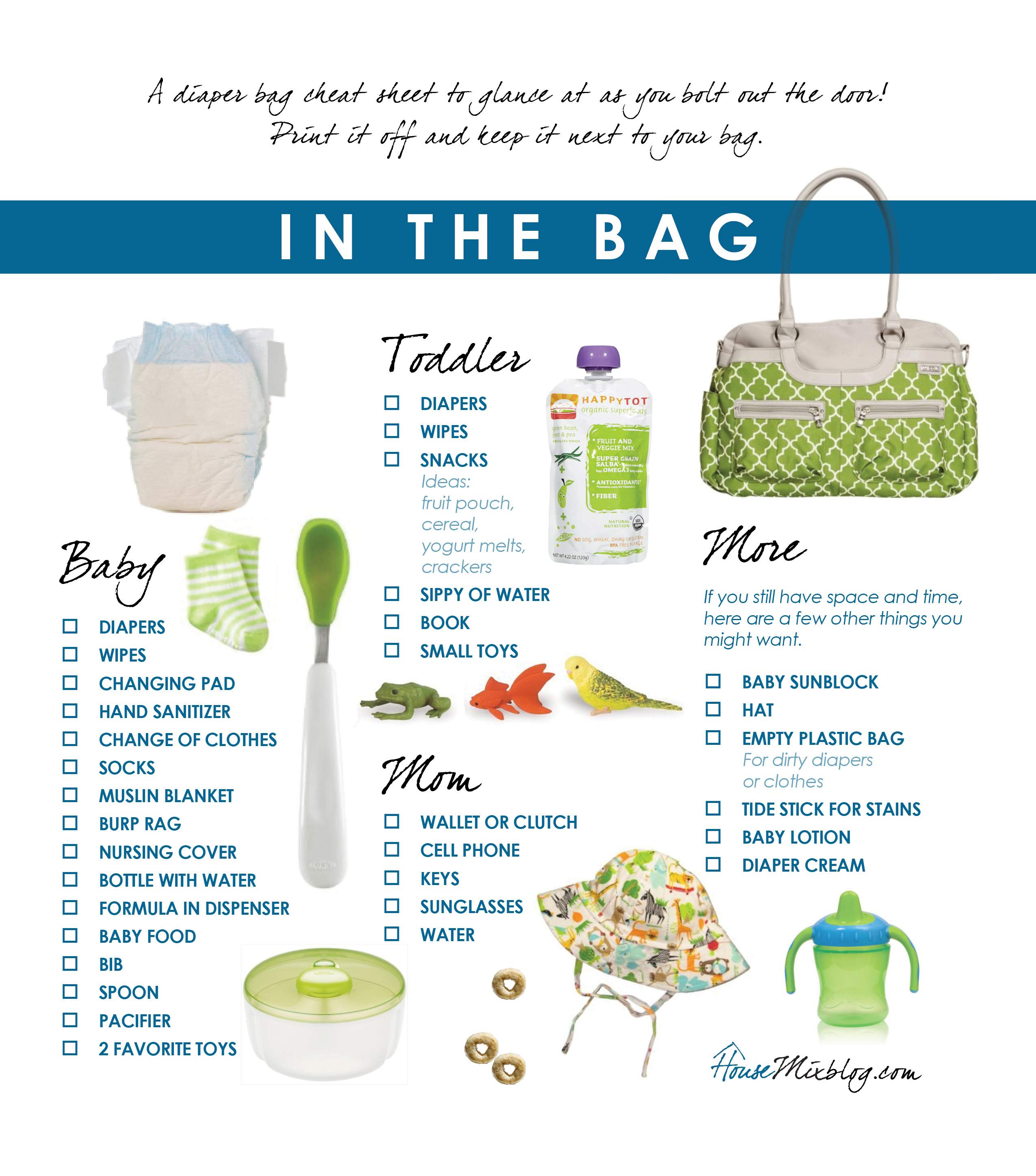 Travel Part 1 Before Vacation Checklist Diaper Bag