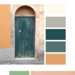 Italian door color palette inspiration