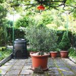 Dario and Lina's small garden retreat