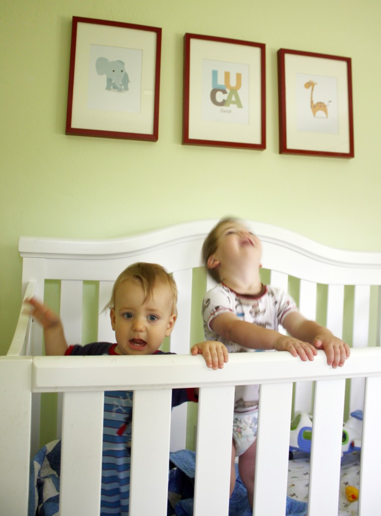 Baby and toddler room sharing house mix for Baby and toddler sharing bedroom ideas