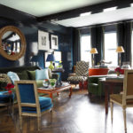 8 navy blue library and study ideas
