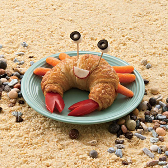 This crabby crabwich by Spoonful would be fun after a beach day.