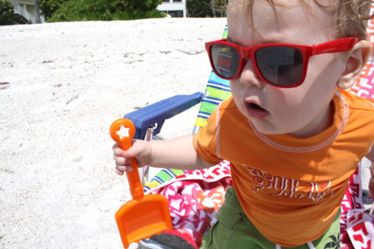 toddler sunglasses beach