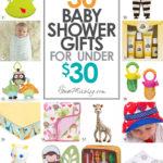 30 baby shower gifts under $30