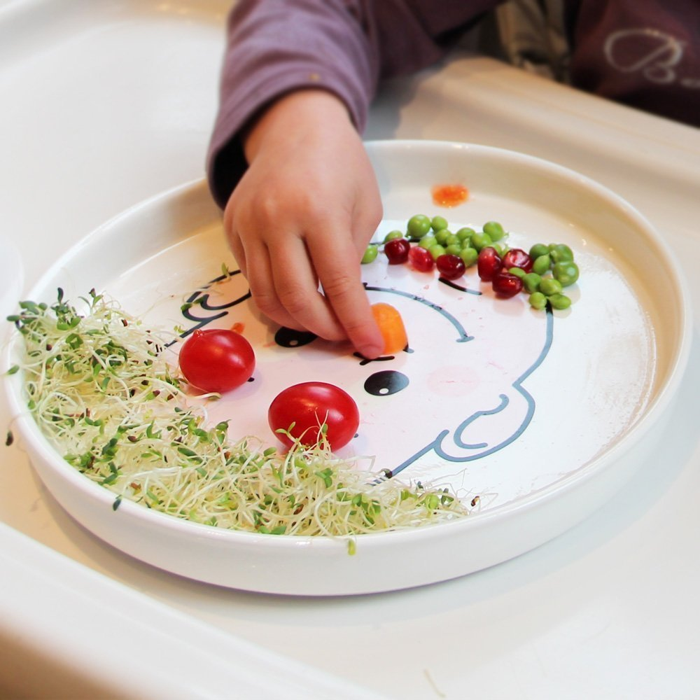 This Face Food Plate has been on my wish list for awhile. Save the creativity for the kids and see what they come up with!