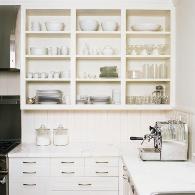 White Kitchen Shelf: 10 Kitchens With Open Shelving