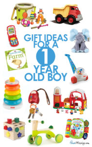 Best toddler toys - Present or gift ideas for a one year old boy