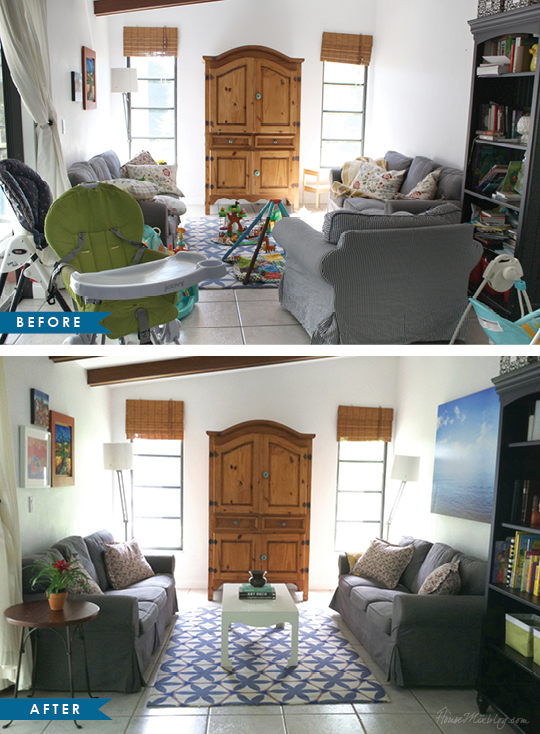 Home Staging Declutter Before And After Pictures