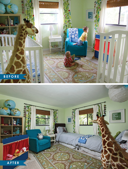 Home Staging Rearranging Kids Bedroom Before And After Pictures