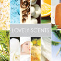 the best scents: rain, coffee, oranges, suntan lotion, christmas trees, gardenias, babies, apple pie