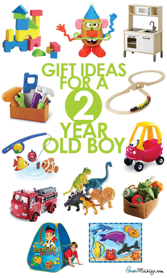 Christmas gift ideas for 2 year old boy birthday