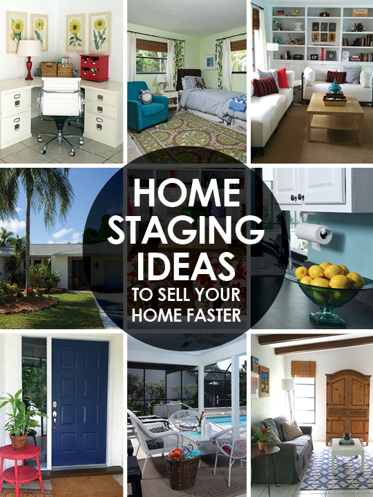 home staging ideas to sell your home faster before and