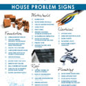 Problems to look for when buying a house checklist