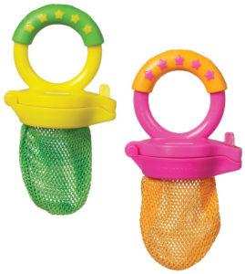 best teething toys - 2 Pack Fresh Food Feeders