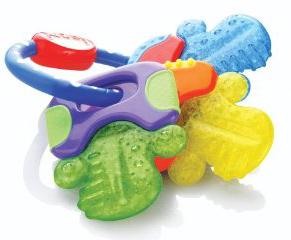 best teething toys - Nuby Icy Bite Teether