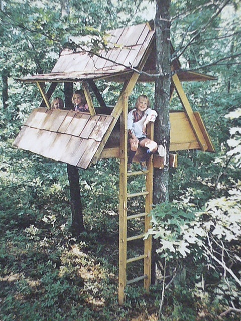 kid clubhouse and tree house ideas