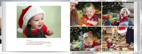 Baby book - first year album9