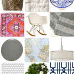 Eclectic modern inspiration board