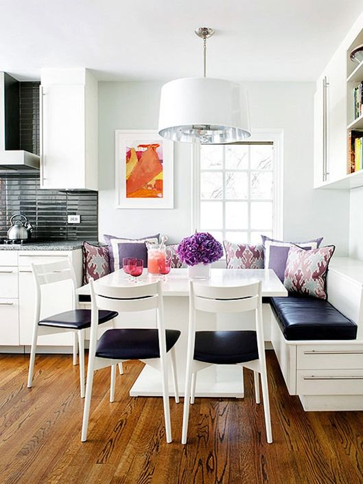 Eclectic Breakfast Nook Inspiration House Mix
