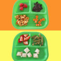 kids divided tray lunch ideas