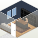 Home styler office layout