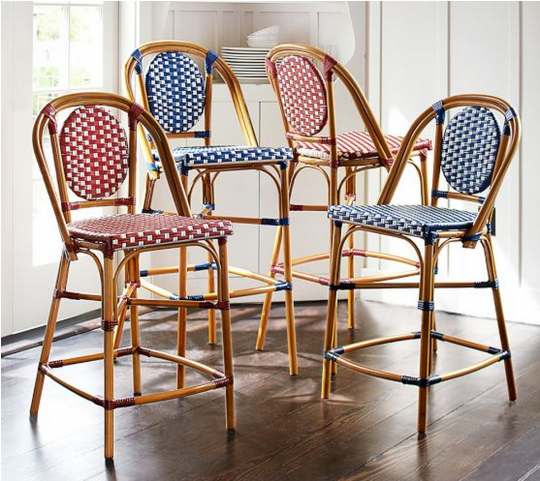 Pottery Barn French Cafe Bar Stool