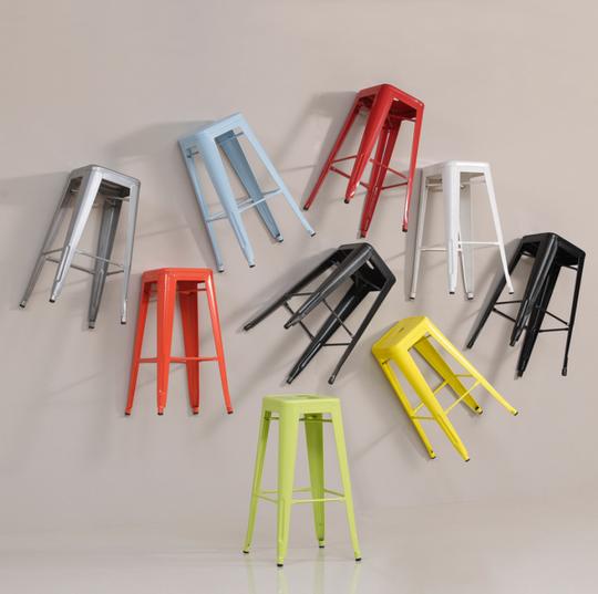 Tabouret 30-inch Metal Barstools