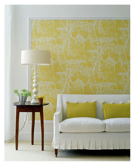 big blank wall design solutions framed wallpaper