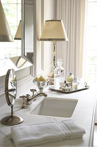 Glamorous bathroom accessories house mix for Bathroom tray decor