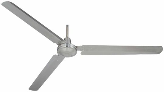 72 inch Casa Velocity Brushed Nickel Ceiling Fan