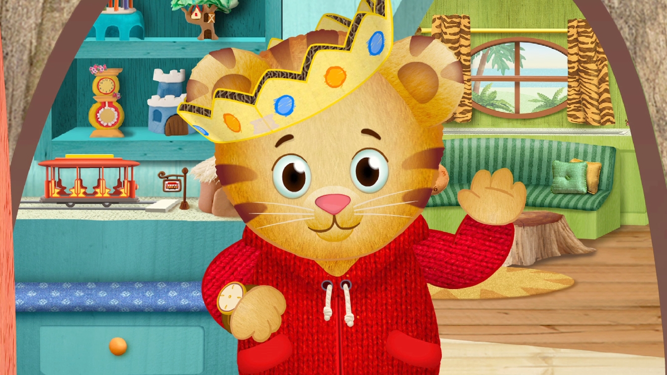 It is a photo of Monster Daniel Tiger Images