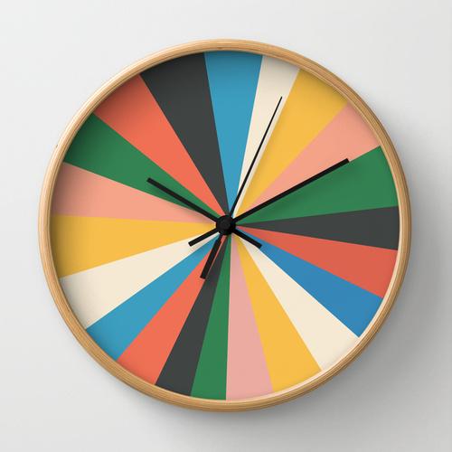 It's Always the Sun wall clock by Galitt via