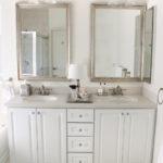 Glamorous master bathroom update