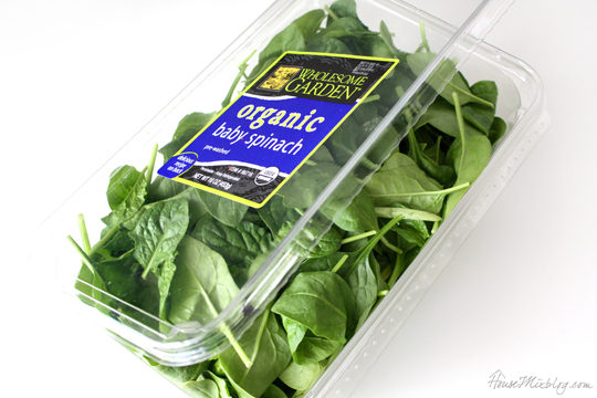 5 ways to use up a giant Costco container of spinach