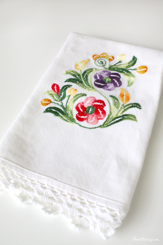 Non-touristy souvenir ideas - hand towel
