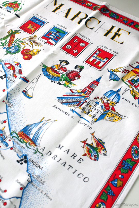Non-touristy souvenir ideas - towel