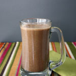 Simple, delicious chocolate smoothie