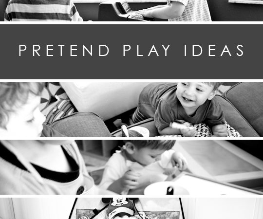 Pretend play ideas for kids to play at home