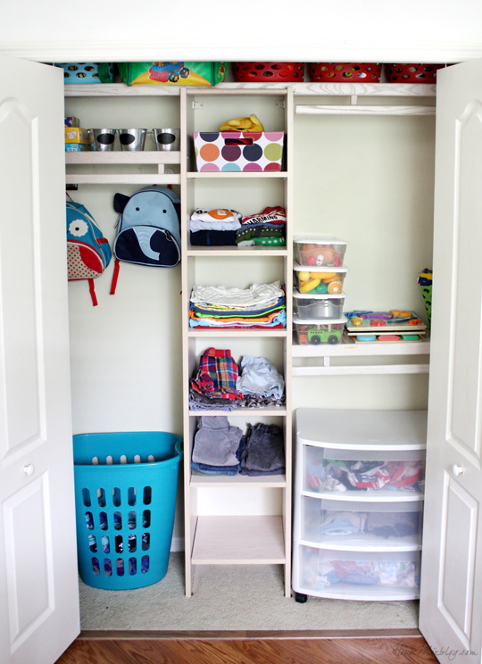 How To Organize Your Kids Closet