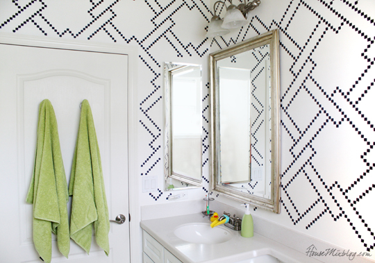 Fun modern kids bathroom