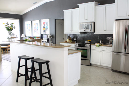 Kitchens With Gray Walls gorgeous grey walls kitchen design inspirations in any kitchen