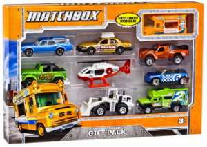 Matchbox cars - three year old gift ideas