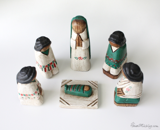 Non-touristy souvenir ideas -- nativity