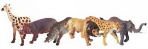 Wild Republic African toy animal figurines