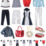 Preppy summer travel clothes