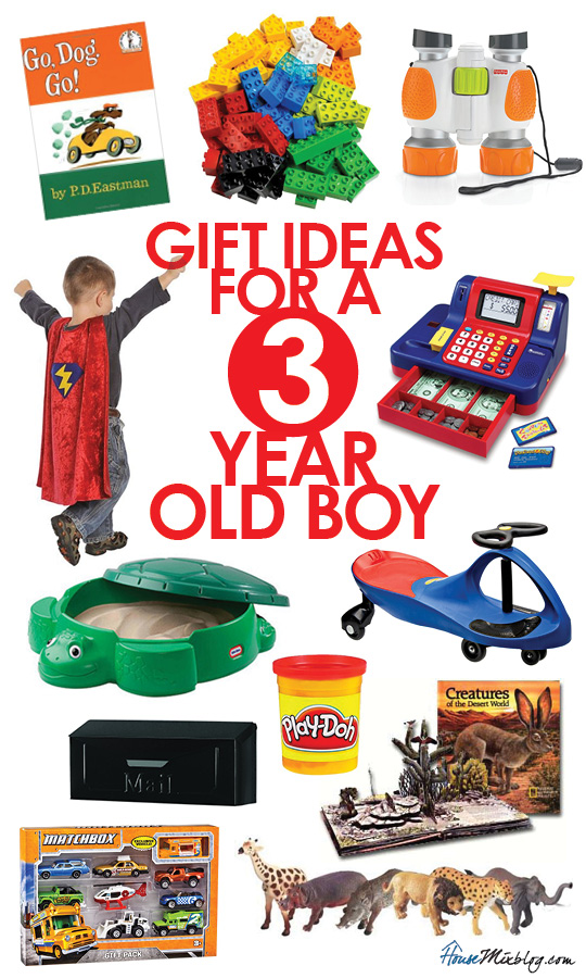 Toys For A 3 Year Old Boy
