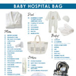 Baby hospital bag checklist