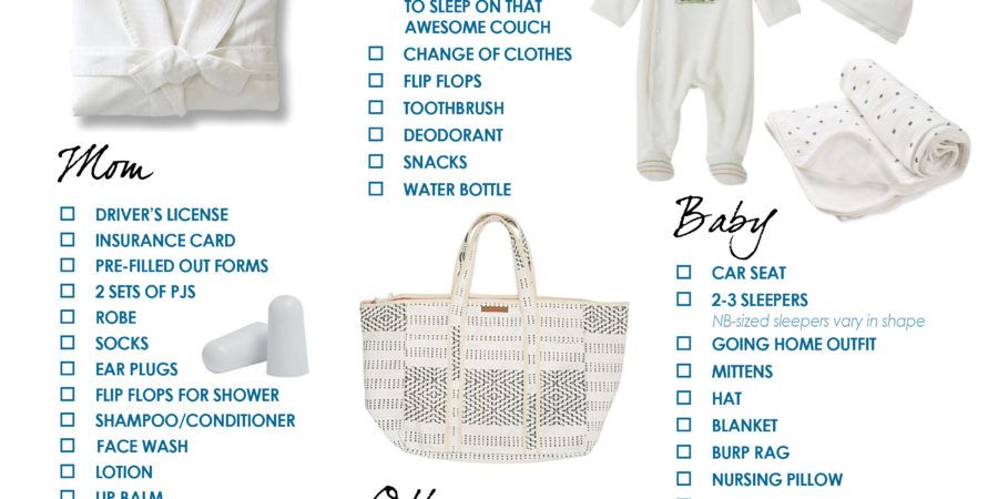 Baby Hospital Bag Checklist House Mix