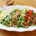 Cobb salad recipe with lemon dressing